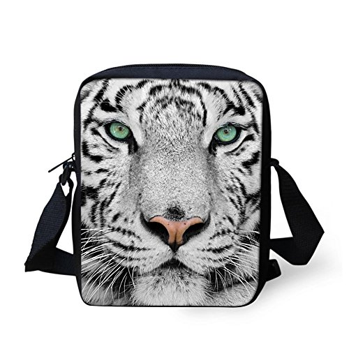 Mini Bags Cell Small Satchel white Handbag Face Purse Wallet Printed Phone 3D Pouch Monkey heard HUGS Crossbody tiger IDEA Shoulder wSzqXWA