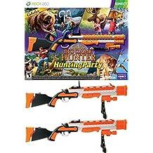 Cabela's Big Game Hunter: Hunting Party 2 x GUN BUNDLE XBOX 360 Video Game