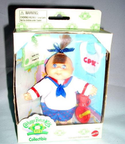 Cabbage Patch Kids Baby Sailor Girl Collectible doll (Collectible Toddler Dolls)
