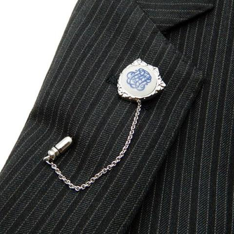 ROYAL COPENHAGEN CREST LAPEL STICK PIN by Royal Copenhagen (Image #3)