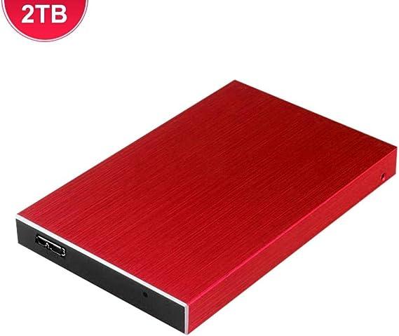 Viugreum 外付けドライブ USB 3.0 外付けHDD ポータブル 超薄型外付けHDD 500GB-3TB CD/DVDプレイヤー TV録画 モバイル DVD ドライブ PC/Mac/TV/Windows適用