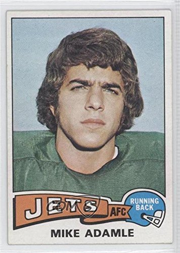Mike Adamle  Football Card  1975 Topps    Base   307