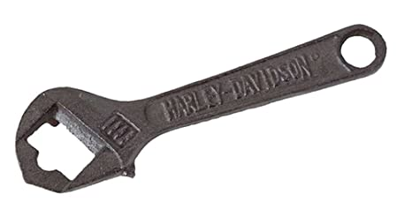 Harley davidson wrench bottle opener rugged look hdl by