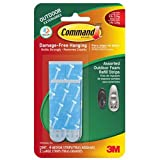 Command Outdoor Medium and Large Foam Strip Refills, (17615AW-EF)