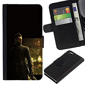 Stuss Case / Funda Carcasa PU de Cuero - Deusex Game - Apple Iphone 6