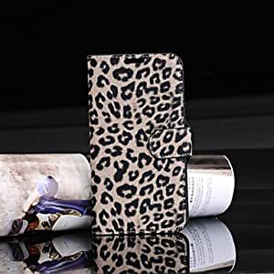 Luxury Case Wallet Leopard Print Case for Samsung Note 2 N7100 (Assorted Colors) , White