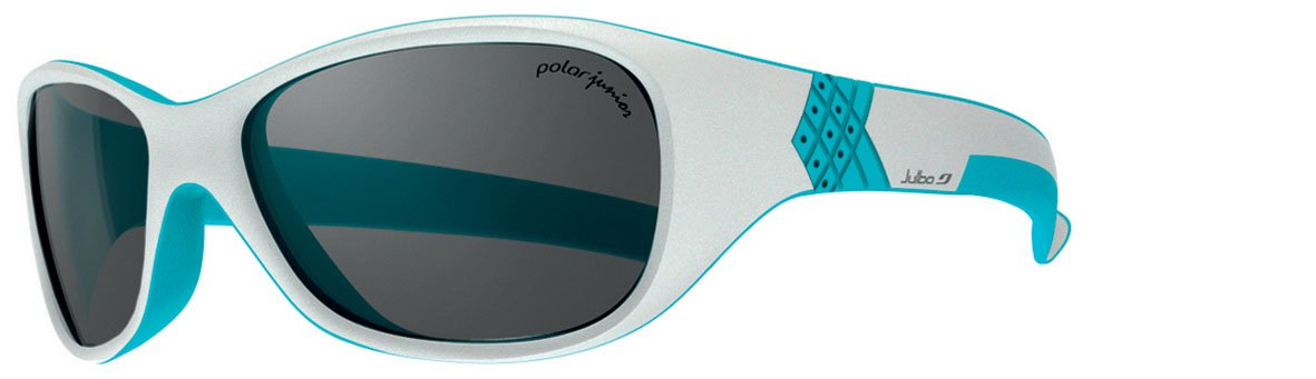 Julbo Kid's Solan Sunglasses, Polarized Junior Lens, Grey/Blue, 4-6 Years by Julbo