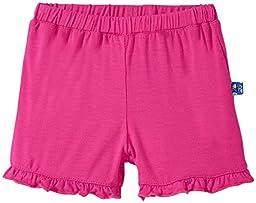 KicKee Pants Baby Girls Ruffle Short Prd-Kprs384-Co, Calypso, 3-6 Months