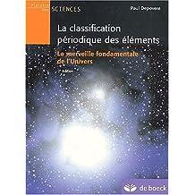 Classification periodique  2/e des elements