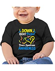 Down Syndrome Day Awareness Baby T-Shirts Novelty for Kids Tees with Cool Designs