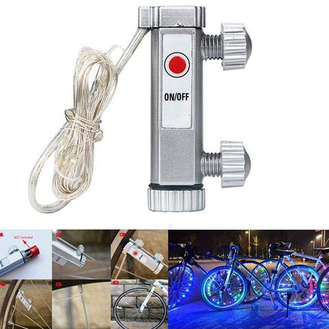 Super Cool LED Bike Wheel Lights (2 Tire Pack) with Batteries Included! Get  100% Brighter and Visible from All Angles for Ultimate Safety and Style