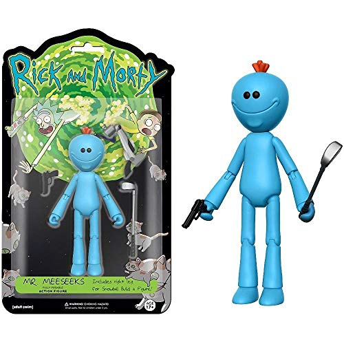"Funko 5"" Articulated Rick and Morty Meeseeks Action Figure"