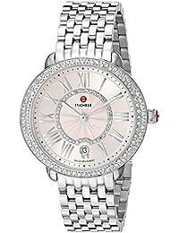Women's Swiss Quartz Stainless Steel Casual Watch, Color:Silver-Toned (Model: MWW21B000137)