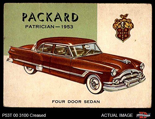 1954 Topps World on Wheels # 97 Packard Patrician 1953 for sale  Delivered anywhere in USA