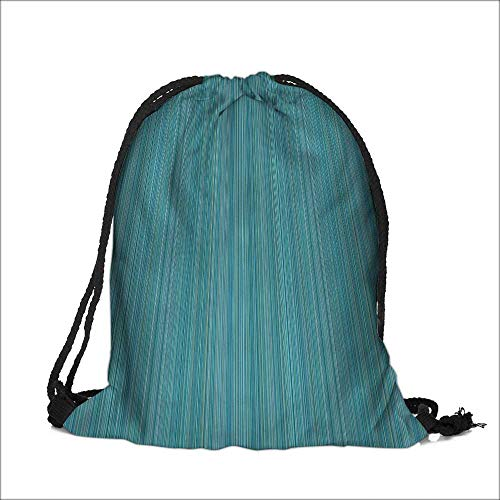 Pocket Drawstring Bag Stripes Lines Ethnic Dress Patterns Modernative Backpack Student Bag 12