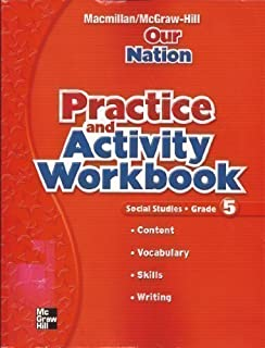 Amazon our nation mcgraw hill social studies 9780021492671 our nation practice and activity workbook fandeluxe Images