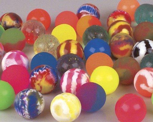 100 32Mm Assorted Bouncy Balls