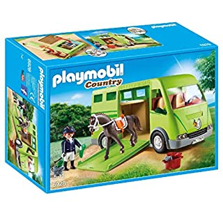 PLAYMOBIL Horse Transporter Building Set