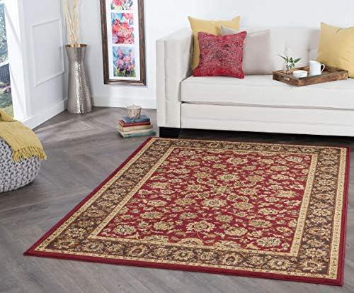Davenport Red 9×13 Rectangle Area Rug