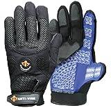 Impacto BG40820 Anti-Vibration Mechanic's Air Glove, Black