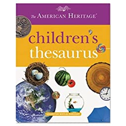 Houghton Mifflin 1472086 American Heritage Childrens Thesaurus, Hardcover, 288 Pages