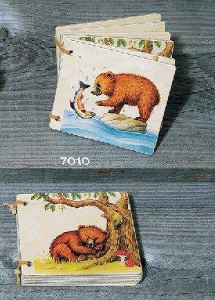 Atelier Fischer Wooden Book - Bears (Swiss Waldorf)
