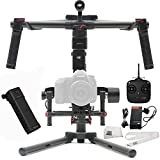 DJI Ronin-M 3-Axis Brushless Gimbal Stabilizer Basic Kit Includes Manufacturer Accessories + SSE Transmitter Lanyard + Microfiber Cleaning Cloth