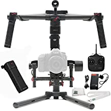 DJI Ronin-M 3-Axis Brushless Gimbal Stabilizer Includes Manufacturer Accessories + SSE Transmitter Lanyard + Microfiber Cleaning Cloth