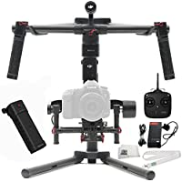DJI Ronin-M 3-Axis Brushless Gimbal Stabilizer Includes Manufacturer Accessories + Lanyard + Microfiber Cleaning Cloth