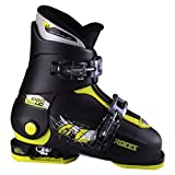 Roces 2018 Idea Adjustable Black/Lime Kid's Ski Boots 19.0-22.0