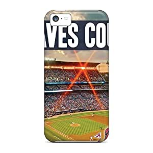 For Iphone Case, High Quality Atlanta Braves For Iphone 5c Cover Cases
