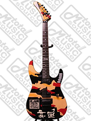 ESP LTD George Lynch Kamikaze Electric Guitar FREE STRINGS STRAP TUNER CLOTH