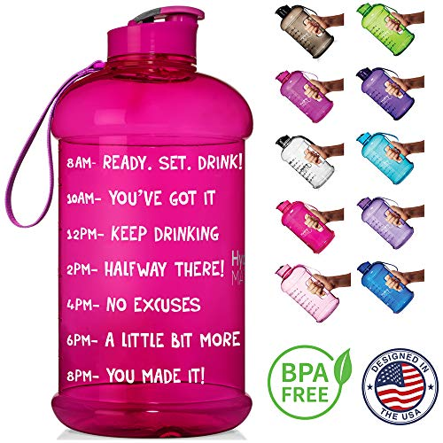 64 oz filter water bottle - 1