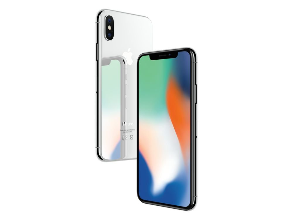 "A Apple iPhone X Único SIM 4G 64GB Prata - smartphones (14.7 cm (5.8 ""), GB 64, 12 MP, iOS, 11, Silver)"