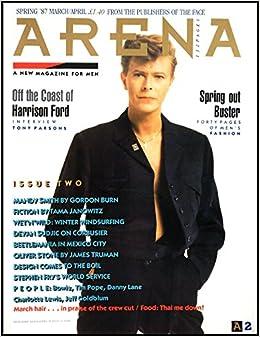 arena magazine no 2 spring 1987 march april david bowie