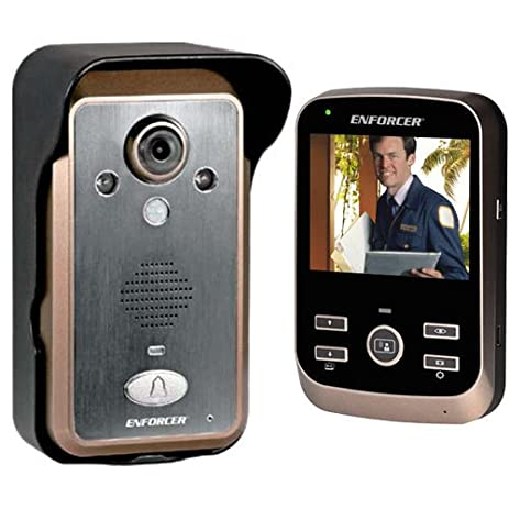 SECO-LARM DP-236Q Wireless Video Door Phone Complete System Talk with