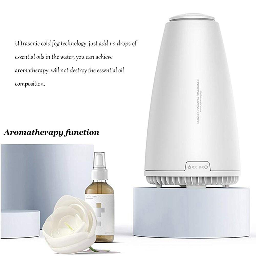 QSCA Aromatherapy Instrument Mini Aromatherapy Machine Household Plug-in Bedroom Office Essential Oil Fragrance lamp by QSCA (Image #5)