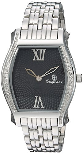 Burgmeister Women's BM806-121 Analog Display Quartz Silver Watch