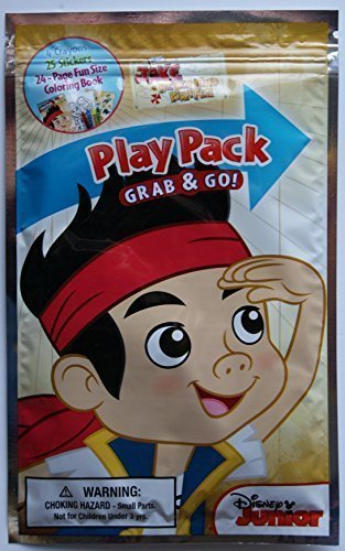 (Disney Junior Jake & the Neverland Pirates Grab and Go Play Pack)
