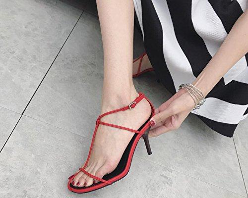 Scarpe rosso all'aperto novità Primavera Casual per novità all'aperto Donna Open   c22971