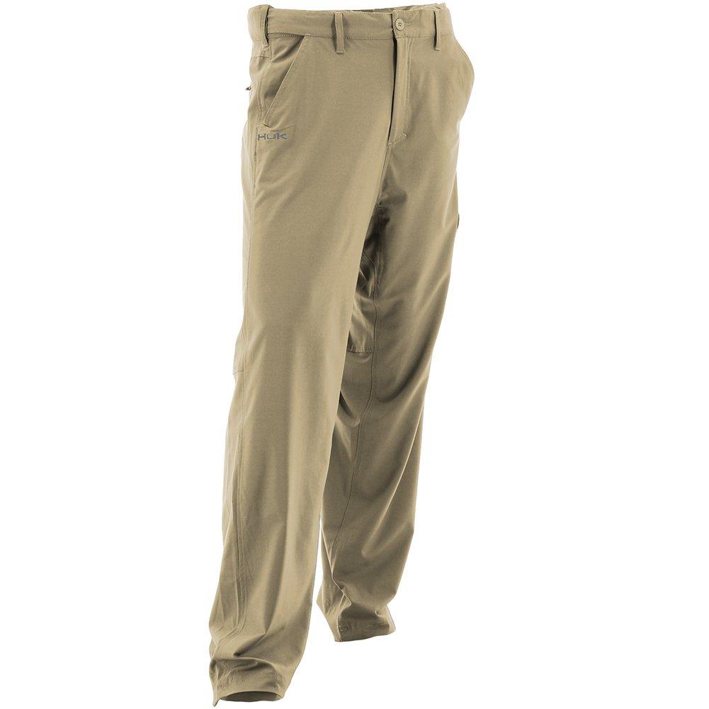 Huk Marolina Outdoor H2000012KHKXL Next Level Pants, Khaki, X-Large