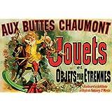 Affiche jouets Aux Buttes Chaumont (91x61cm)