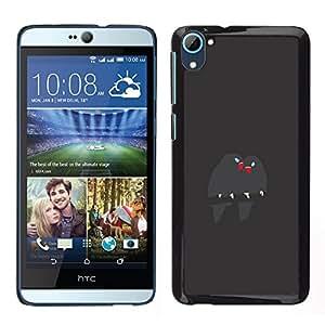 Be-Star Único Patrón Plástico Duro Fundas Cover Cubre Hard Case Cover Para HTC Desire D826 ( Cute Birds Branch Grey Beak Love )