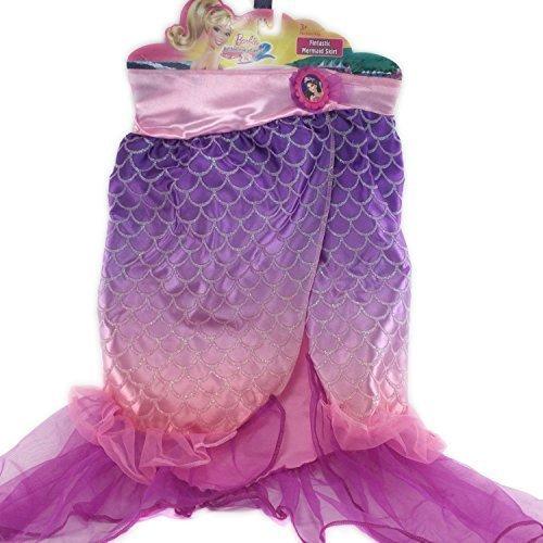 [Barbie in a Mermaid Tale Fintastic Mermaid Skirt Size 4-6x] (Malibu Barbie Costume)