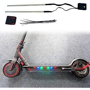 515QYQAN2mL. SS300 Linghuang Scooter Luce di Striscia per Xiaomi M365 / M365 PRO Avvertimento Luce Sicurezza Notturna Luce LED Light con Scooter Elettrico Telaio Accessori