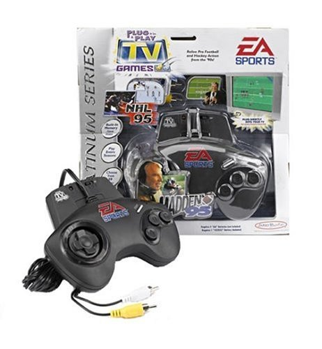 EA Sports Controller with Two TV Games by Toymax (Ea Sports Controller With Two Tv Games)