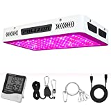 Phlizon Newest 1200W High Power Series Plant LED Grow Light,with...