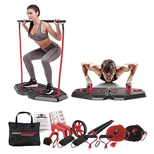 Genis Fitness Plataforma de Exercícios Transformer Full Body Station | Plataforma de Exercícios Transformer