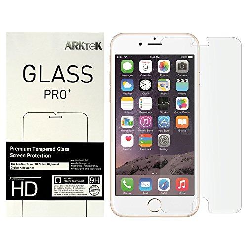 [2-Pack] iPhone 6S Plus Screen Protector, ARKTeK Tempered Glass Screen Protector for 5.5-inch iPhone 6 Plus / 6S Plus
