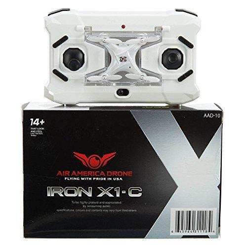 Air America Drone Jern X1 Hvit
